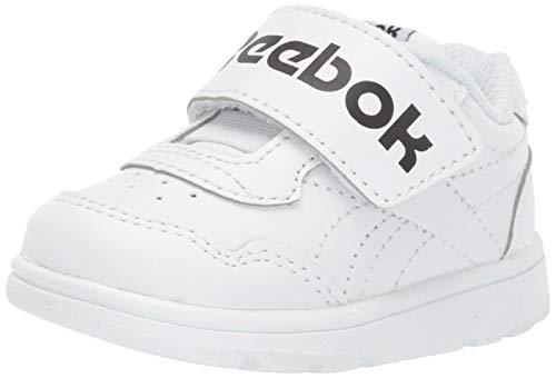 Reebok Baby Techque T Slip On Walking Shoe, White/Black, 10 M US Toddler