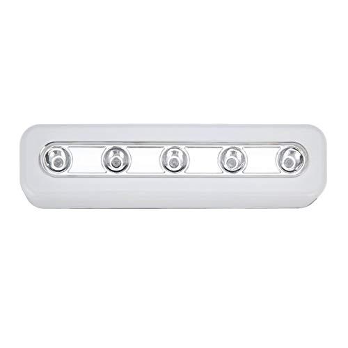 Super Luminosité Sans Fil Applique Murale 5 LED Cabinet Placard Self-Stick Tap Lumière Accueil Nuit D'urgence Tactile Lampe