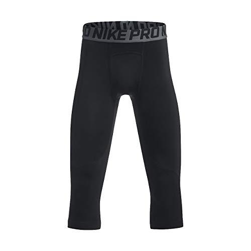 Nike Boy's Pro Tights Black/White Size X-Large