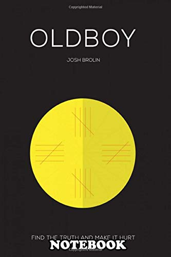 Notebook: Minimal Movie Poster Oldboy , Journal for Writing, College Ruled Size 6