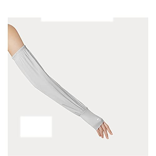 Guoz Mangas del Brazo Protección UV Enfriamiento Cubierta de la Mano Mangas Antideslizantes para Codera,Béisbol,Baloncesto,Fútbol,Ciclismo Deportes