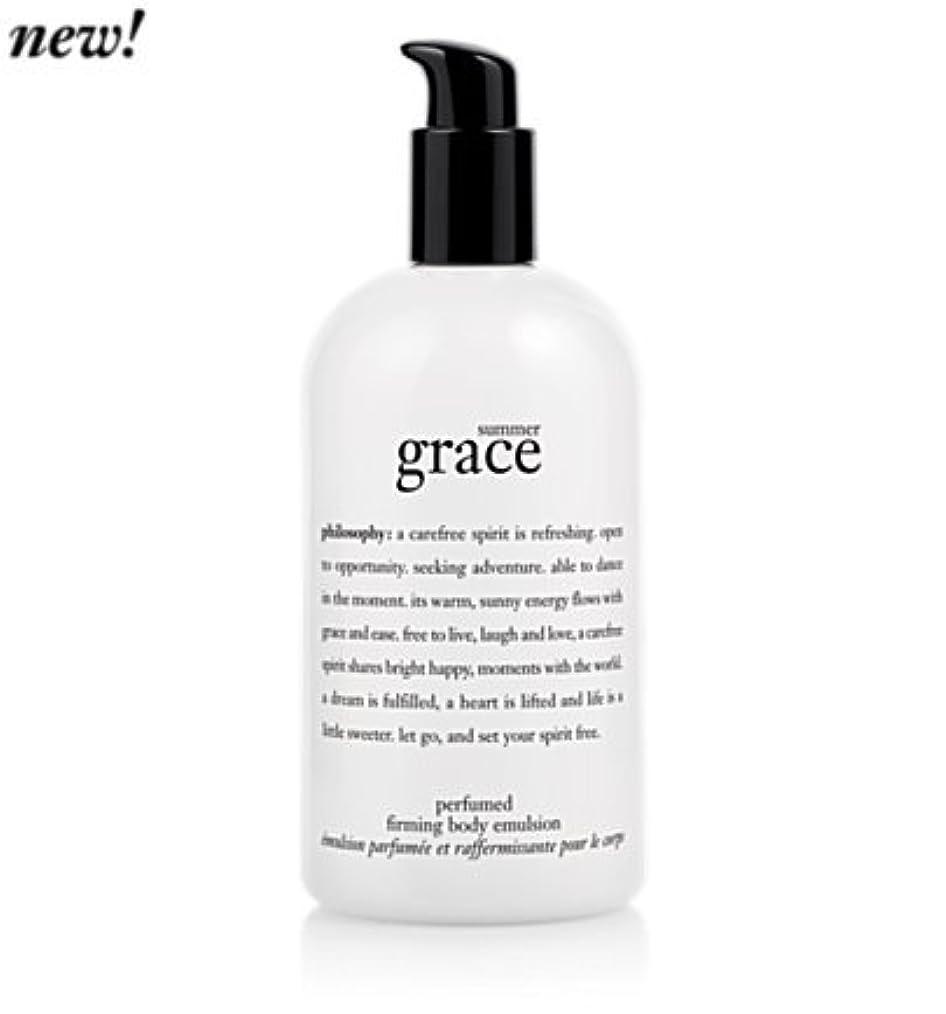 きらめき香ばしい偏見'summer grace (サマーグレイス) 16.0 oz (480ml) perfumed firming body emulsion for Women