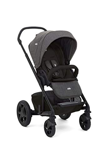 Joie Chrome DLX Kinderwagen Set inkl. Babywanne 2018, Farbe:Pavement