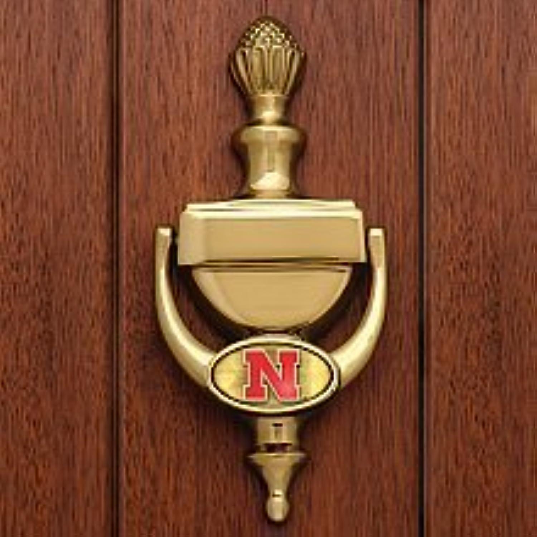 Nebraska Cornhuskers Messing Türklopfer von Memory Company
