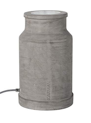 Via Lattea keramische vloerlamp grijs beton | Handgemaakt in Italië | Modern decoratief dimbaar | Buitenlamp E27