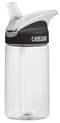 CamelBak Kids Eddy Water Bottle, Clear, 400 ml
