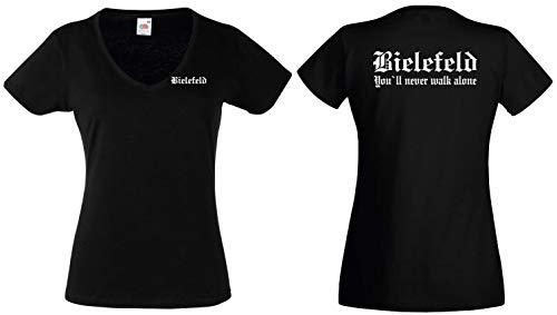 Bielefeld Damen T-Shirt Fan Ultras