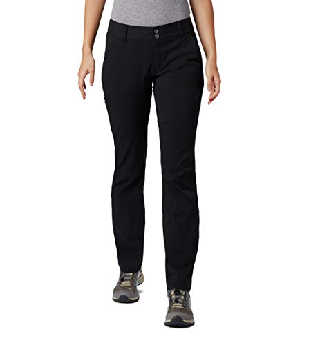 Columbia Women's Saturday Trail Pant, Black, 4