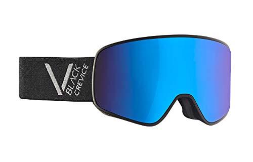 Black Crevice Unisexe - Masque de Ski Schladming, Silver, Taille L (Tour de tête 58-61 cm)