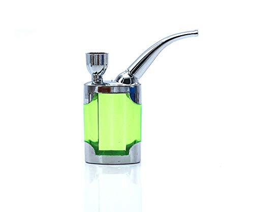 Mkxiaowei Acryl Shisha Topf Wasserpfeife kreative tragbare Rauchen Eimer Rauchen Topf