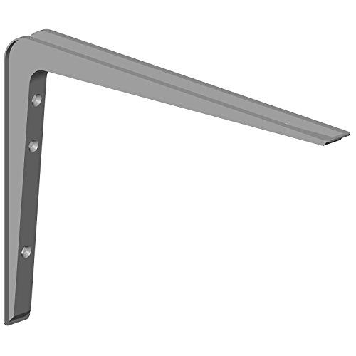 Element System 18133-00145 Alido / Regalträger / 2 Stück / weißaluminium / 220 x 320 mm