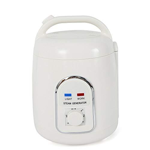 WUPYI2018 Dampfgenerator für Sauna mit tragbarem Dampf, 1800 ml, 900 Watt, Dusche Spa Sauna Zuhause mit Timer