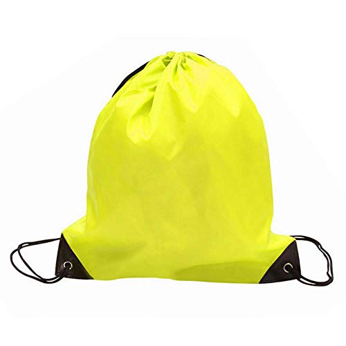 NGwenyicanI - Bolsa de gimnasio grande para hombre, mujer, bolsa de deporte, viajes, fitness, yoga, gimnasio, correr, color amarillo