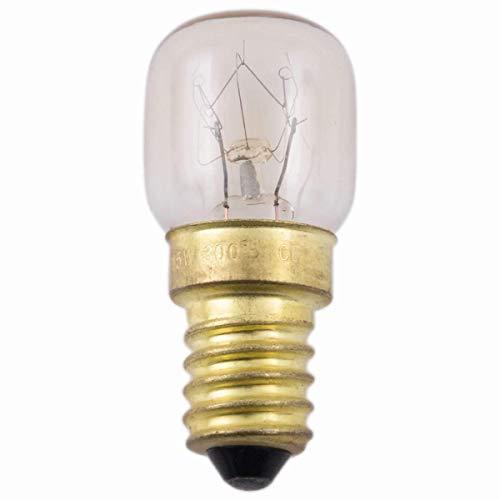 Müller Licht Birnenformlampe Backofen 300 Grad Celsius E14 230 Volt 25 Watt klar