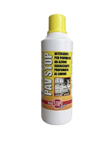 Linea Stop Professional Solutions Pav Stop Detergente per Pavimenti, Nd, 1 l