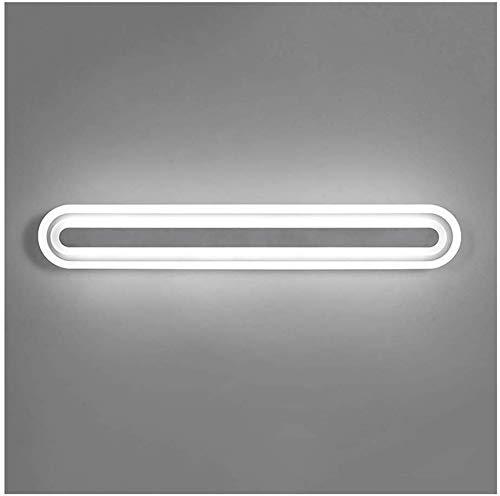Carl Artbay Shuai Mooie lamp/* LED, badkamer/kaptafel, spiegel licht, eenvoudige muur, Europees licht, meerdere lichtbronnen (kleur: warm wit licht 40 cm)