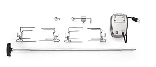 Napoleon Grills 69231 Commercial Rotisserie Kit for 405/450/485/495/500,Stainless Steel