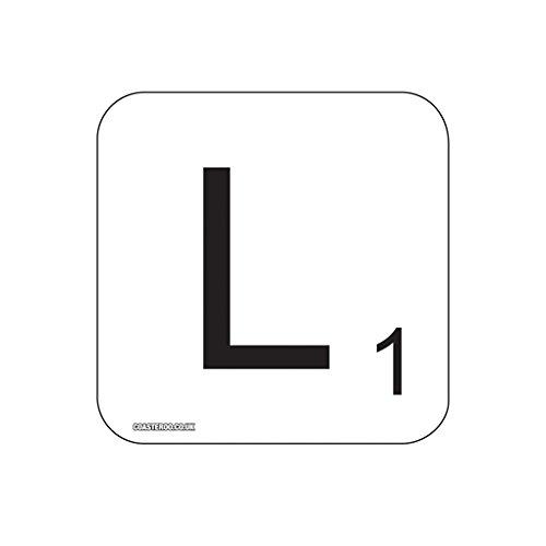 L Scrabble letra – Imán para nevera diseño de 57 mm x 57 mm – acabado brillante – Fun palabra diseño de juegos diseño: Amazon.es: Hogar