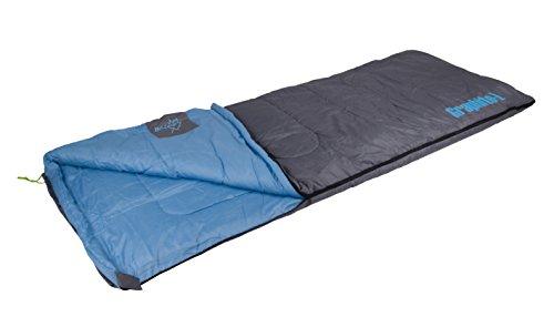 Bo-Camp slaapzak Graphit L, 200 x 80 cm, grijs/blauw