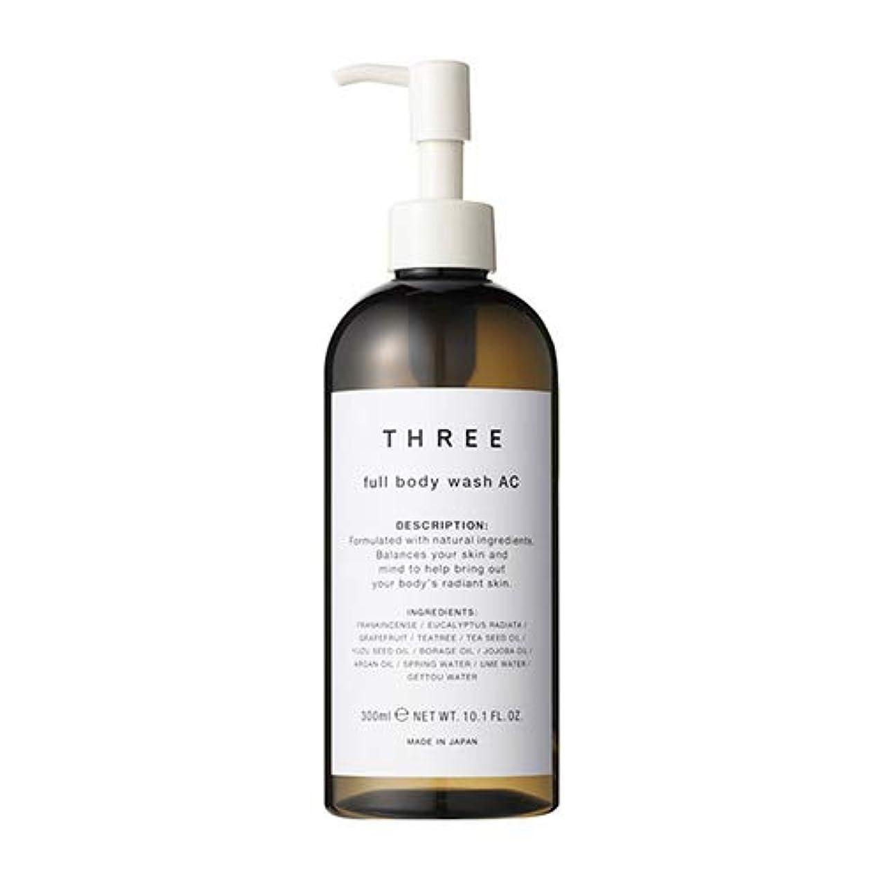 機転廃止粘土FIVEISM × THREE(ファイブイズム バイ スリー)THREE フルボディ ウォッシュ AC