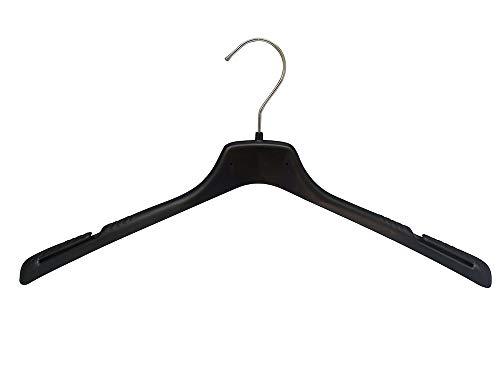 Kiroplast 25 Grucce Magliette T-Shirt Appendini Tshirt Camicie Grucce Capospalla Salvaspazio Aletta Scamiciati Bretelle Plastica Spalla Stretta 42cm