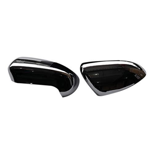 Goblin ZSQ - 2 espejos retrovisores laterales para puerta trasera para Nissan Qashqai J10 2007 2008 2009 2010 2011 2012 2013 (color: plata)