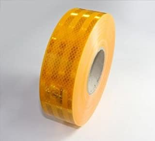 3 M Diamond Grade Contour markering geel Retro - Reflecterende folie 5,5 cm Breed)