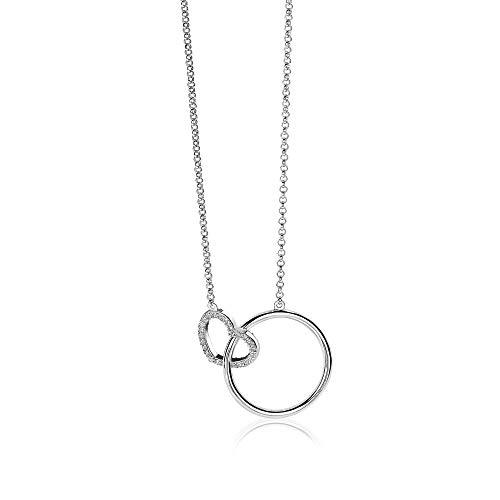 Zinzi Jewels Zilveren Ketting ZIC1483 (Lengte: 40.00-45.00 cm)