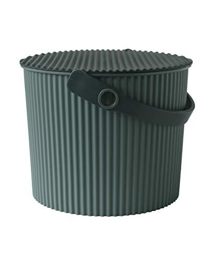 Hachiman Omnioutil Aufbewahrungsbehälter mit Deckel, klein, Grün
