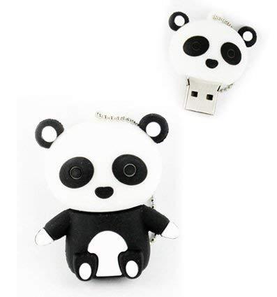 ZUBER® - Memoria USB Oso Panda en 4 GB, 8 GB, 16 GB, 32 GB, 64 GB, 128 GB, 256 GB, 2.0 y 3.0 Memoria USB portatil, alta calidad, (256GB 3.0)