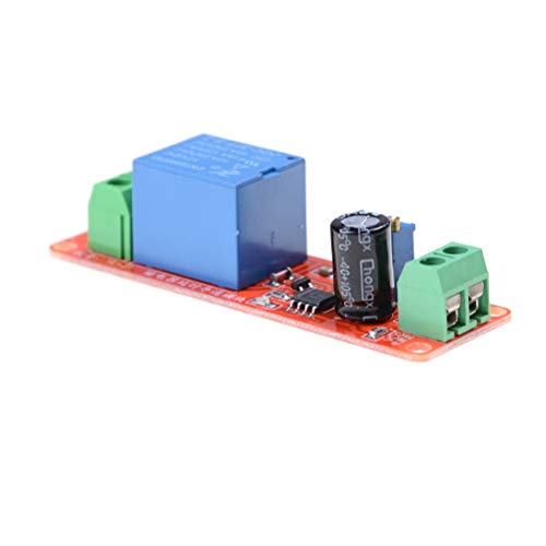 Adjustable Relay - 1pc Adjustable Relay Module 0 To10 Second Ne555 Red Dc12v Pull Delay Timer Switch - Timer Adjustable Delay Relay Switch Delay Switch Timer Relay Release Time Arduino Digit