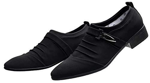 [アスペルシオ] スエード カジュアルシューズ メンズ ビジネスシューズ ビジネス靴 モンクストラップ ウォーキング ウォーキングシューズ インソール シークレット メッシュ 薄い 通気性 軽量 中敷き 幅広甲高 ロングノーズ ミドルカット 幅広 紳士靴