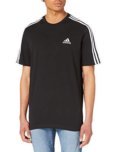 adidas Herren M 3s Sj T Shirt, Schwarz/Weiß, XL EU