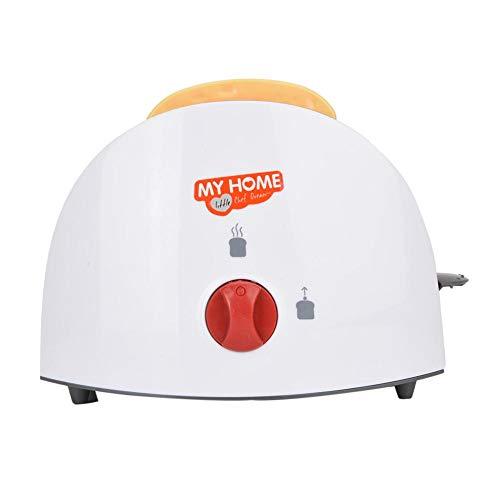Jadpes Juego doméstico Pretender Jue, Mini Juguete para el Aparato electrodoméstico Pretender Aparato de simulación para el hogar Juguete Educativo para niños Regalo Educativo(Tostadora)