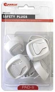 Sansai Power Point Safety Plugs - Set of 6 (PAD-9)