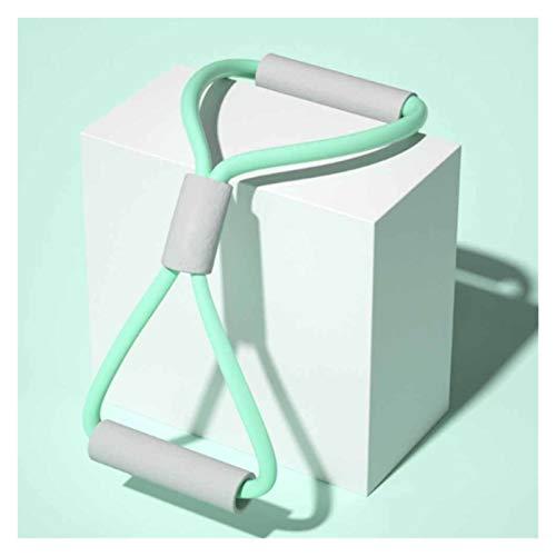 Pecho para Fitness Musculacion Extensor Entrenamiento Pectoral Expansor De Aptitud con Entrenadores De Músculos para Ejercitador De Músculo (Color : Green)