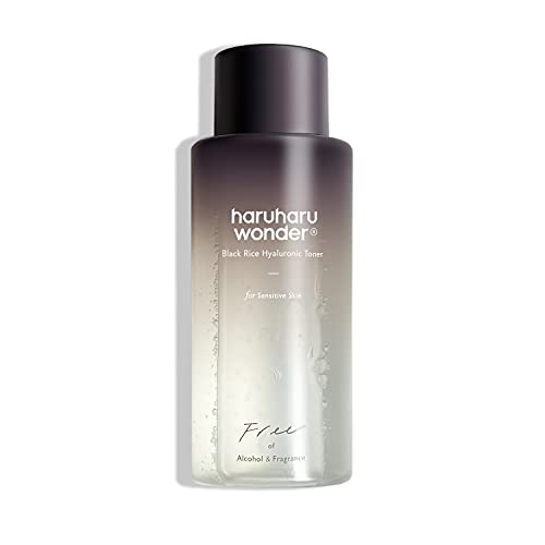 Haruharu Black Rice Hyaluronic Toner for Sensitive Skin