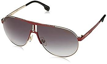 Carrera 1005/S Pilot Sunglasses Red Gold/Dark Gray Gradient 66mm 9mm