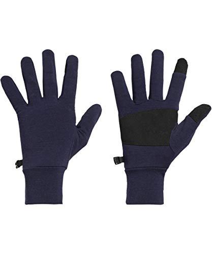 Icebreaker Erwachsene Adult Sierra Merino Gloves Handschuh, Midnight Navy, XS