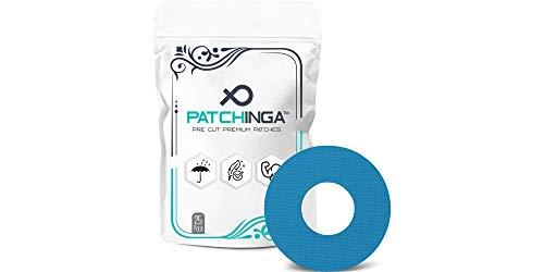 PATCHINGA Selbstklebendes CGM Tape - Kompatibel mit Freestyle Libre/Libre 2 (25 Stück) I Wasserfest - Hypoallergen - Atmungsaktiv I Langanhaltender Sensorschutz - Erhältlich in verschiedenen Farben