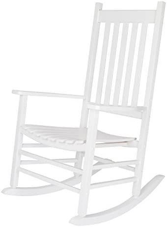 Best Shine Company Inc. 4332WT Vermont Porch Rocker, White