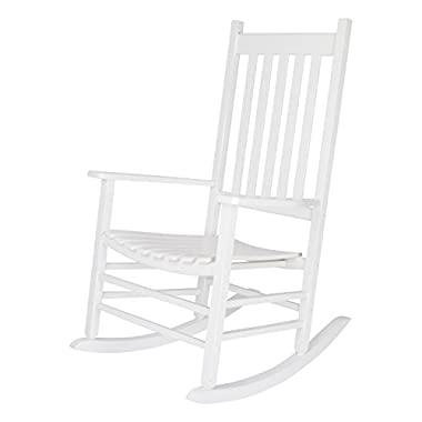 Shine Company Vermont Porch Rocker, White