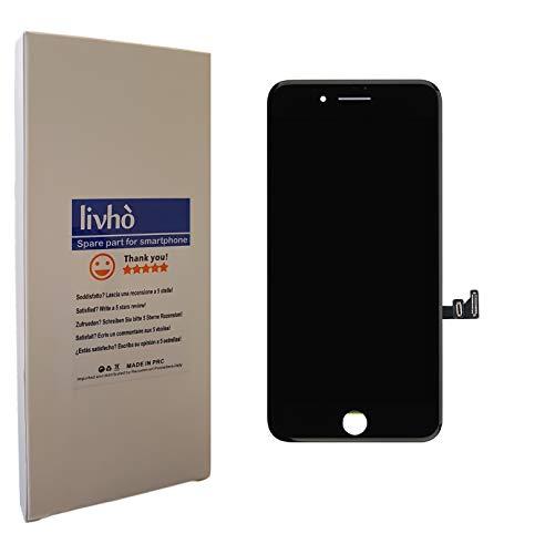 livhò® Scherm LCD Zwart compatibel met iPhone 7 Plus/Display LCD + Touchscreen