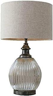 Berliana - Lámpara de mesa de cristal (65 cm)