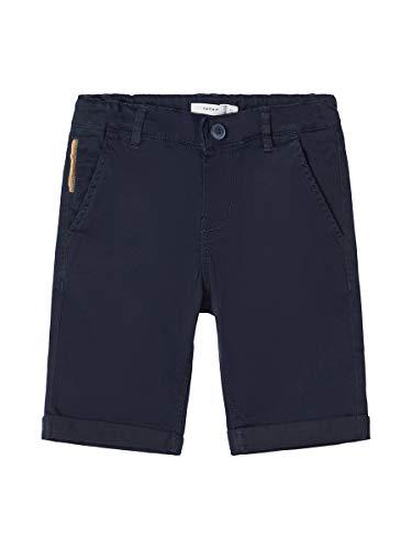 NAME IT Herren Chinoshorts Slim Fit 122Dark Sapphire