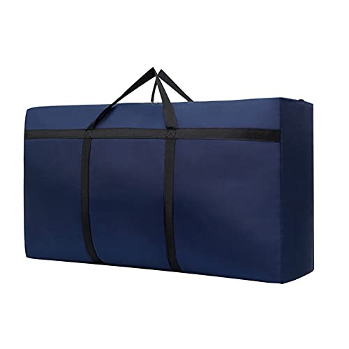 TYLC Borsa da Viaggio Borsa in Movimento Borsa stoccaggio Borsa Armadio Organizzatore Organizzatore Ampia capacità Antipasta di Polvere Impermeabile addensata (Color : Blue, Size : L 125L)
