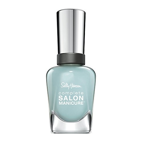 Sally Hansen Complete Salon Manicure Nagellack, 601Barracuda/pflegender, helles Blau/Türkis, 15 g