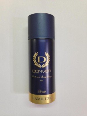 Denver Hamilton orgullo Desodorante Spray–Para Hombres (180ml)