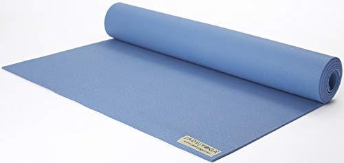 "JADE YOGA - Harmony Yoga Mat (3/16"" Thick x 24"" Wide x 68"" Long - Color: Slate Blue)"