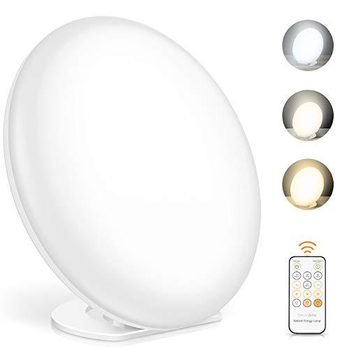 Lámpara portátil con alimentación por USB, lámparas solares para la depresión
